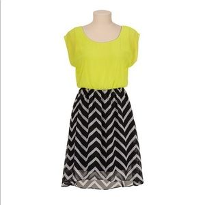 Maurice's Chevron High Low Dress